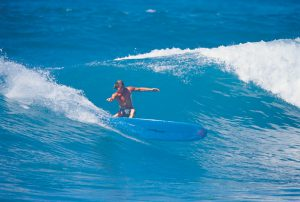 Zack Howard Surfing